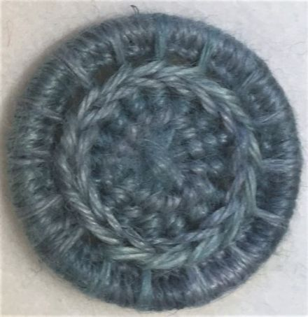 Dorset Button Kit - Daisy Chain Design, Atlantic (plant fibre)